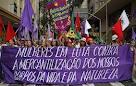 marcha mulheres rio+20